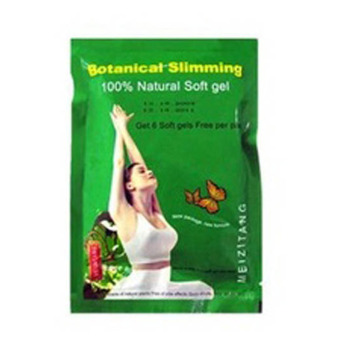 Harga Meizitang Botanical Slimming 100% Natural Soft gel Obat Pelangsing Badan Herbal