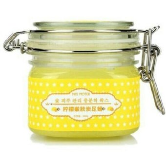 Harga Simply Skin Moter Lemon Foot Wax 200gram Original 1Pcs