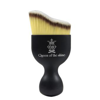 Harga Queen Of The Shine Make Up Brush / Curved Brush / Kuas Make Up / Kuas Blush On 006 (Black-Yellow)