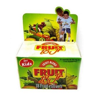 Harga Vege Blend Fruit 18 Jr For Kids - 30 Kapsul