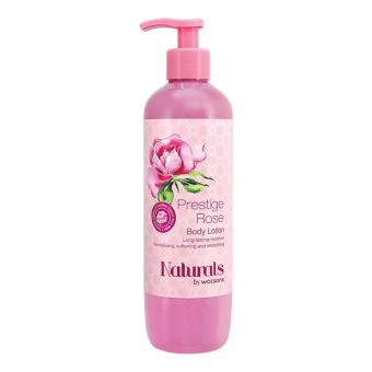 Harga Naturals By Watsons Prestige Rose Body Lotion 490ml