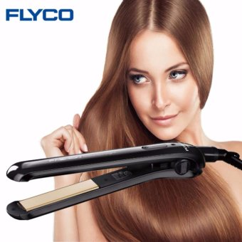 Harga Flyco FH6812 Professional Ceramic Electric Hair iron Straightening Iron Hair Straightener Flat Styling Tools Dry and Wet - intl