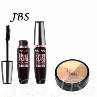 Harga JBS Mascara Waterproof - Hitam - MN Foundation Concealer