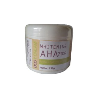 Harga DSC Whitening Body Cream Aha