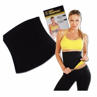 Harga Hot Shaper Korset Pelangsing Perut Sports Hot Shapers Neotex Slimming Tummy Body Belt - Hitam
