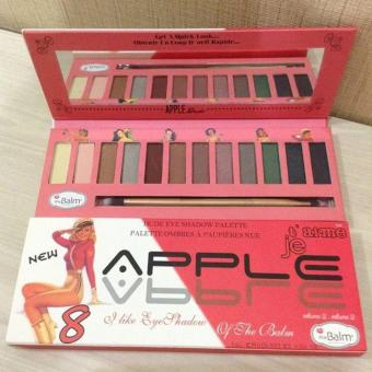 Harga New Apple 8 Eyeshadow Pallette Ombres Aimeje - 12 Warna