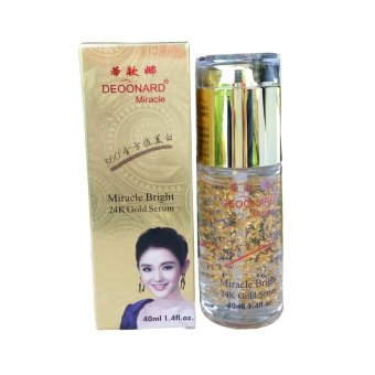 Harga Deoonard Serum Gold Miracle Bright 24K 40Ml