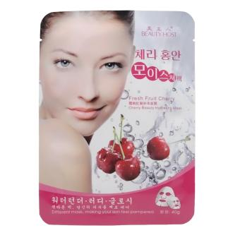 Harga Beauty Host Fresh Fruit Cherry After Sun Repair . Masker Cherry 5 pcs