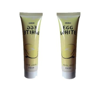 Harga Egg White Peel Off Mask Masker Putih Telur 85gr - 2pcs