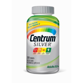 Harga Centrum Silver 50+ - 285 Tablets