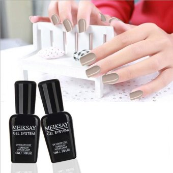 Harga 10ML Temperature Change Colors Soak Off Nail Lacquer UV LED Polish Gel - intl