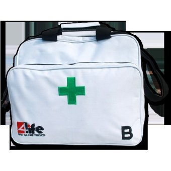 Harga 4Life White Bag Kit Type B / First Aid Kit / Tas P3K