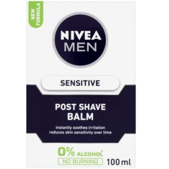 Harga Nivea Men Post After Shave Balm Sensitive Germany / USA