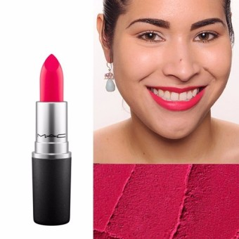 Harga MAC Lipstick - Relentlessly Red ( Pinkish Coral )