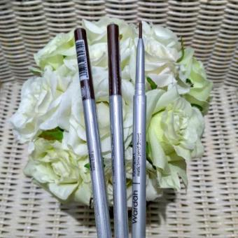 Harga New Wardah EyeXper Matic Brow Pencil / Pensil Alis Putar - Coklat 1pc