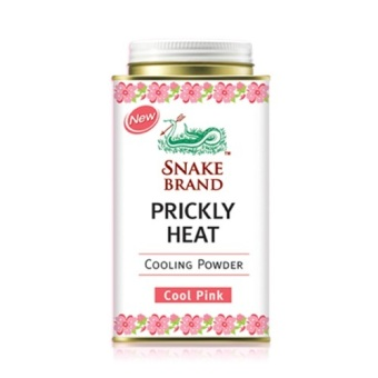 Harga Snake Brand - JJC St. Luke Prickly Heat Powder - Cool Pink