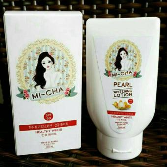 Harga Micha Lotion Whitening Korea Original - Lotion Pemutih