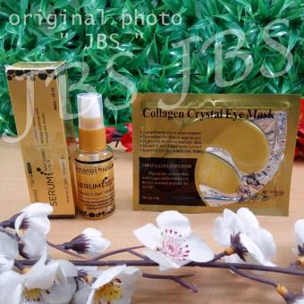 JBS Collagen Crystal Eye Mask - Masker Mata - Serum Perawatan Kulit Wajah - Serum Gold