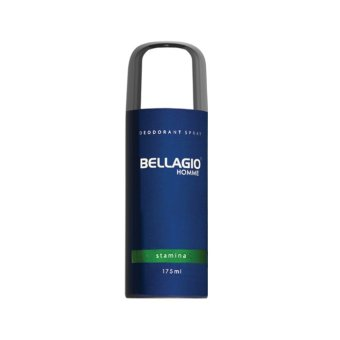Harga Bellagio Deodorant Spray Stamina - Green, 175ml