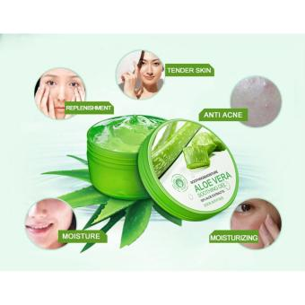 Harga BIOAQUA Natural aloe vera Smooth Gel Acne Treatment Face Cream for Hydrating Moist Repair After Sun