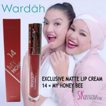 Harga Wardah Exclusive Matte Lip Cream - 14 My Honey Bee