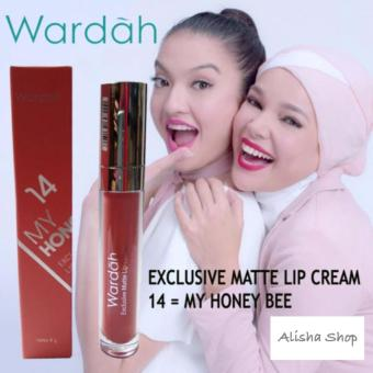 Harga Wardah Exclusive Matte Lip Cream 14 My Honeey Bee