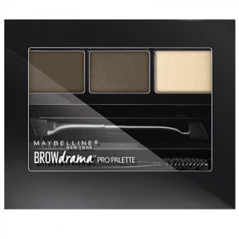 Harga Maybelline Brow Drama Pro Palette - Deep Brown