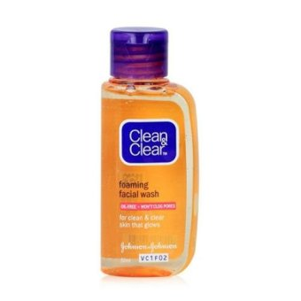 Harga Clean & Clear Facial Wash 50ml