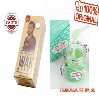 Harga Wak Doyok Cream Original Hologram + Miss Moter Matcha Milk Hand Wax