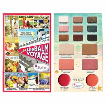 Harga The Balm Voyage Magazine Make Up Kit