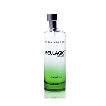 Harga Bellagio Spray Cologne Stamina - Green, 100ml