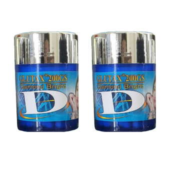 Harga Glutax 200GS Diamond Bright Whitening - 2 Pcs