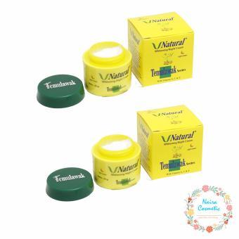 Temulawak V Natural BPOM - Cream Malam V Natural Temulawak 2 Pcs