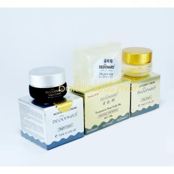 Deoonard Blue 7 Days Paket Perawatan Wajah Jerawat Cream Siang Source Deonard Cream .