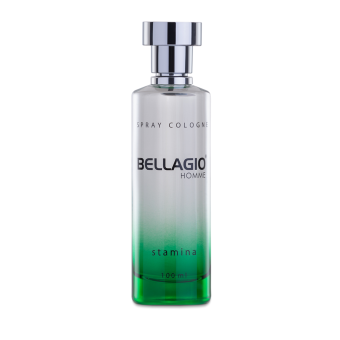 Harga Bellagio Spray Cologne Stamina (Green) 100ml