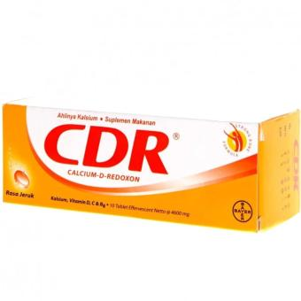 Harga CDR (Calcium D Redoxon) 10 Tablet