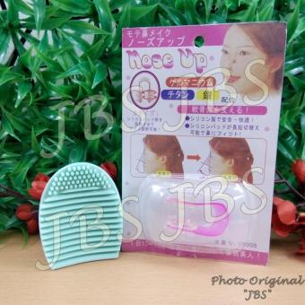 Harga JBS Makeup Brush Cleaner Cleaning Washing Foundation Brushegg Cosmetic - Pembersih Kuas Make Up Multi Colour - Nose Up - Pemancung Hidung