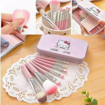 Harga Brush Kit Hello Kitty/Kuas Make Up