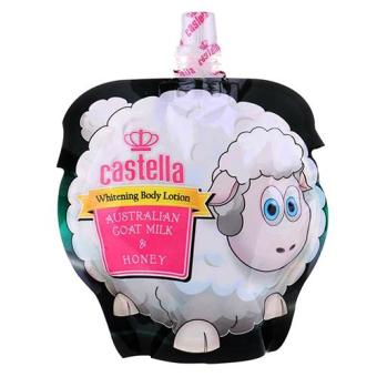 Harga CASTELLA WHITENING BODY LOTION GOAT MILK 150 ML
