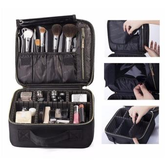 Harga ROWNYEON Mini Makeup Train Case with Portable EVA and freely combined - intl