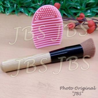 Harga JBS Makeup Brush Cleaner Cleaning Washing Foundation Brushegg Cosmetic - Pembersih Kuas Make Up Multi Colour - Brush Powder Multiunction Mask Brushes Make Up Tools