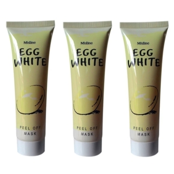 Harga Mask Egg White Peel Off Masker Putih Telur - 3 Pcs