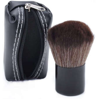 Harga Universal Kuas Make Up Mushroom Blush On Foundation Make Up Brush - Hitam