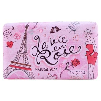 Harga Bali Soap - La Vien Rose Natural Bar Soap 200g