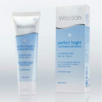 Harga WARDAH_Perfect Bright Lightening Moisturizer - 20 ml