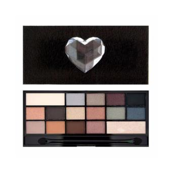 Harga I HEART MAKEUP NAKED UNDERNEATH - FAUX FUR COVERED PALETTE