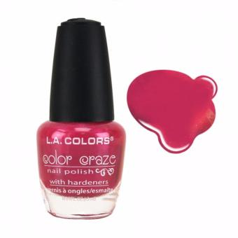 Harga LA Colors Color Craze Nail Polish - CNP437 Paradise Pink