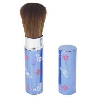 Harga Queen Of The Shine Kuas Make up/ Blush On Tabung/Make up Brush (Biru)