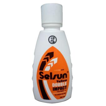 Harga Selsun Shampoo Yellow Double Impact 50ml