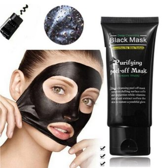 Harga coconie Black Mud Deep Cleansing Purifying Peel Off Facail Face clearer Remove Blackhead Facial clearer - intl